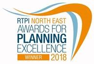 Planning Excellence Award from the RTPI for the USB Building on Helix