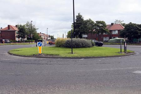 Image of the junction at Ponteland Rd/Harehills Ave
