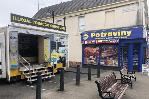 Potraviny at Shields Road