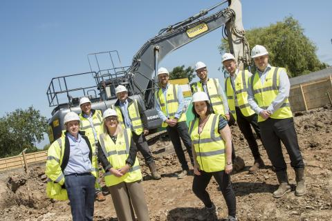 Works starts on site on new housing development in Kenton