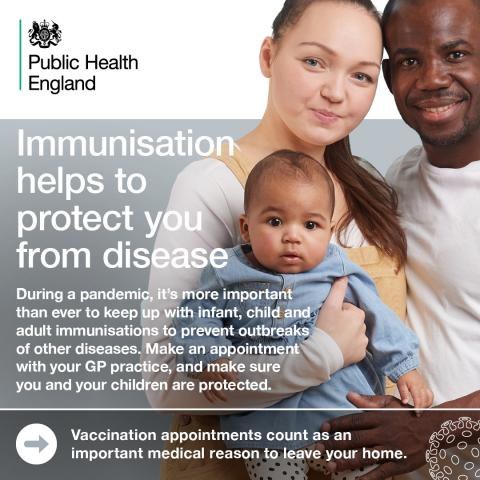 Immunisations graphic