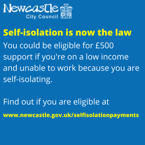 Self-isolation is now law