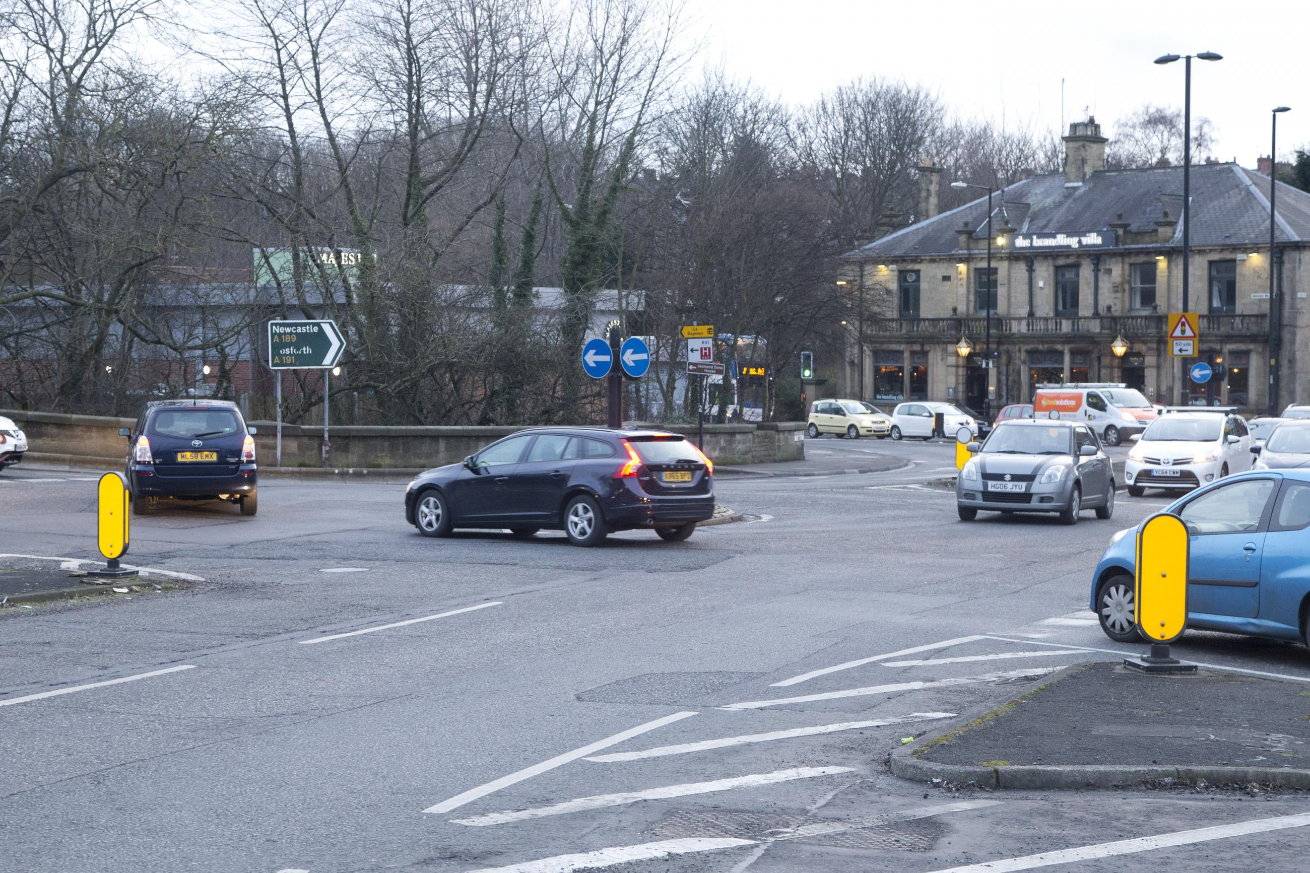 Image of Haddricks Mill junction