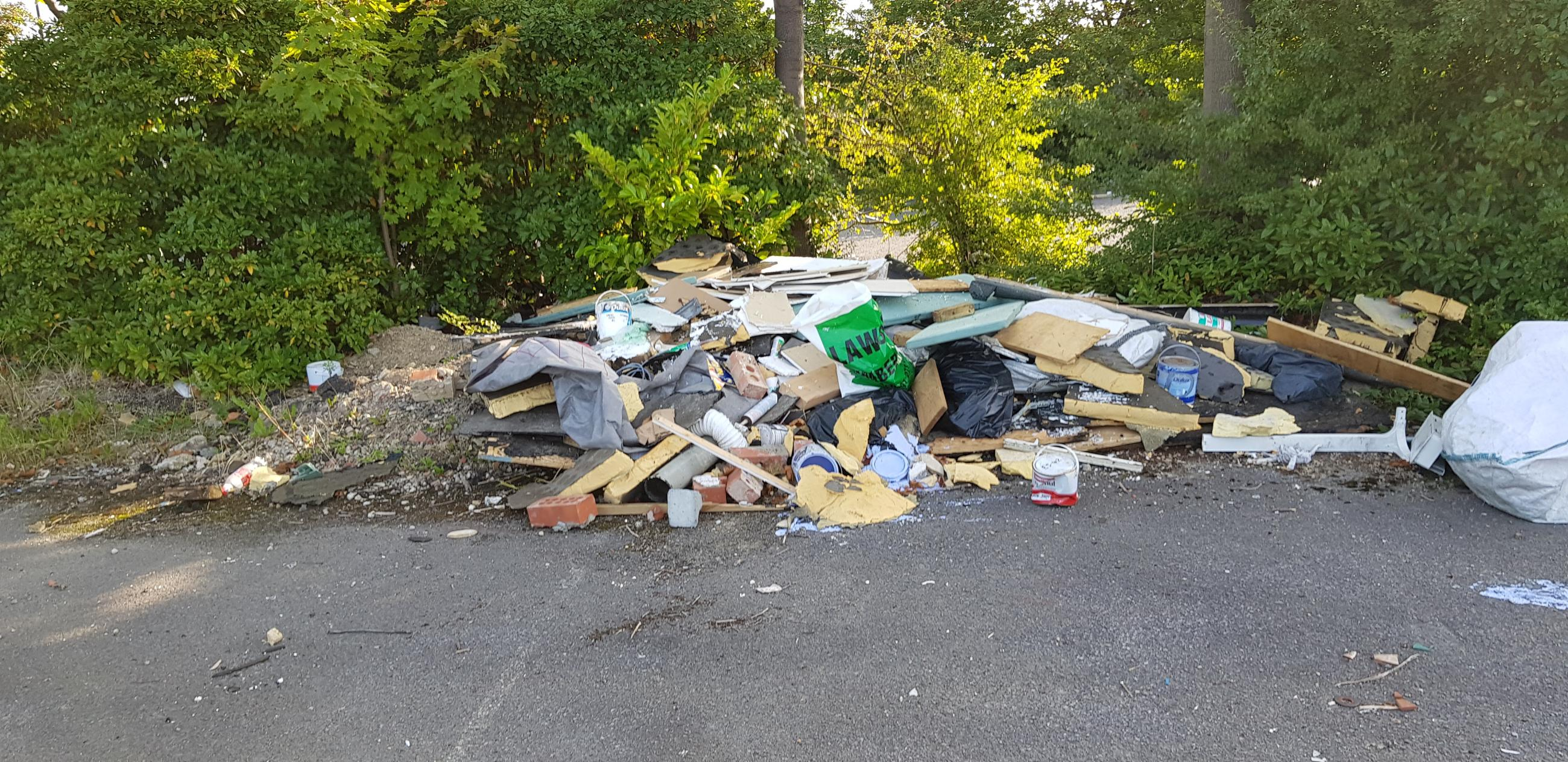 Fly-tipped waste traced back to Mair's business