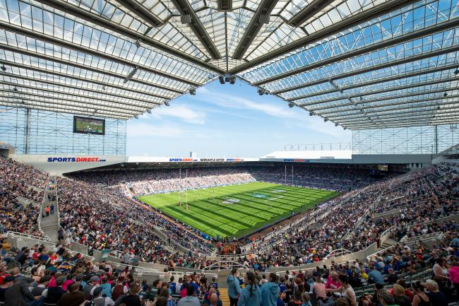 An image of St James Park during the 2018 Dacia Magic Weekend is attached to accompany this annoucement
