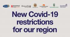 New COVID-19 restrictions for our region