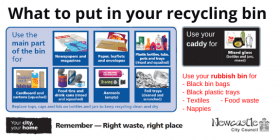 What to put in your recycling bin