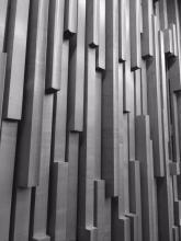 Council Chamber walls